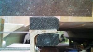transom bearing gap gone