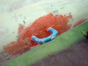 anchor eye bogged
