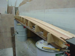 forebeam half planked