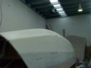 outboard masked for copper coat