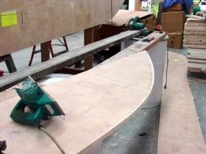 starboard hull panel